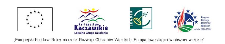 """Realizowany projekt: """"Drewniany domek noclegowy w Dobkowie z mobilną wypożyczalnią rowerów"""""""